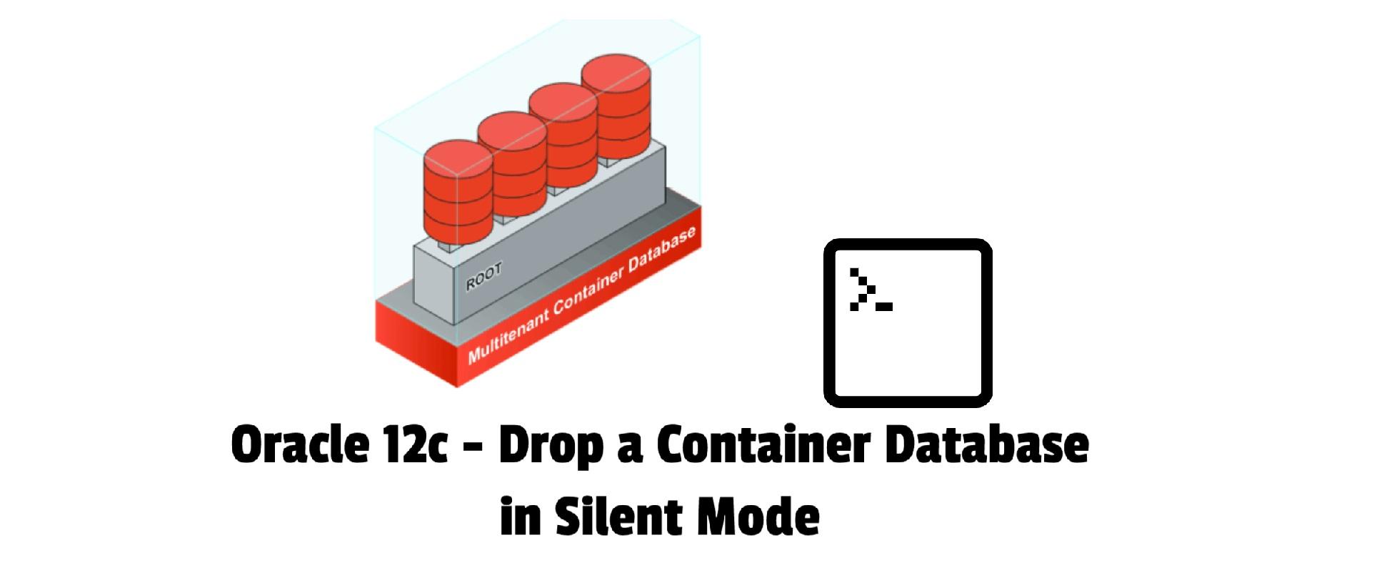 Drop cdb in silent mode