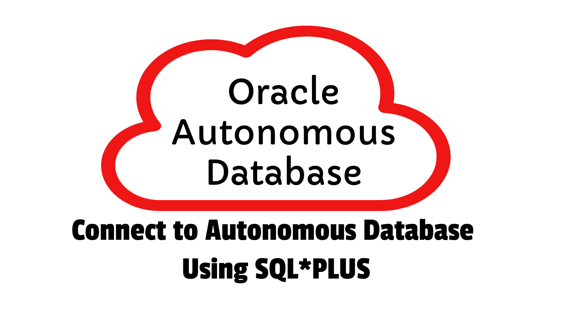 Connect to Autonomous db using sqlplus